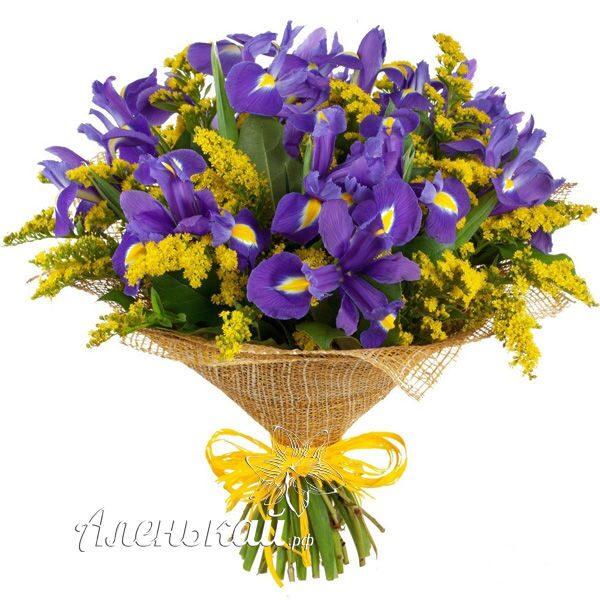 Цветы с доставкой магазин ирис прикольный подарок подруге на юбилей