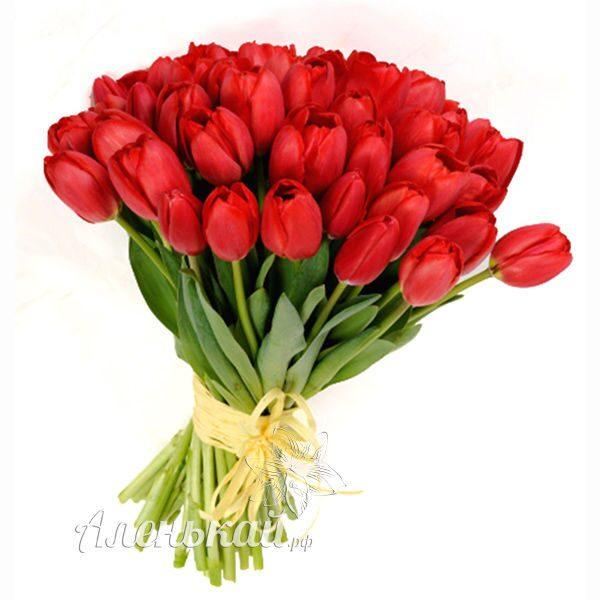 Букеты из тюльпанов заказать цветы в рязани на заказ