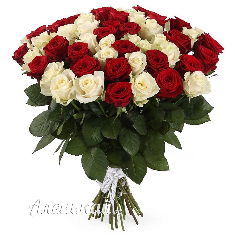 Доставка цветов заказ 51 роза подарок жене на рождение ребенка из золота